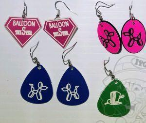 Earrings and Pins